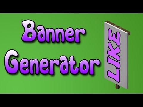 PAGINA PARA HACER BANDERAS - BANNER GENERATOR - MINECRAFT [1.8]