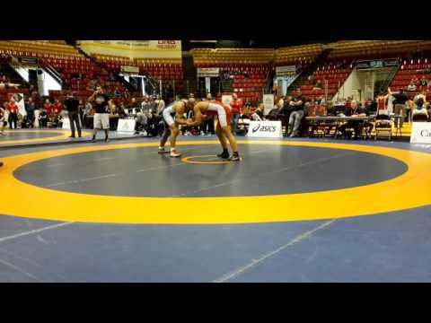 2016 Canadian Senior Championships: 97 kg Nishanpreet Randhawa vs. Ali Al-Rekabi