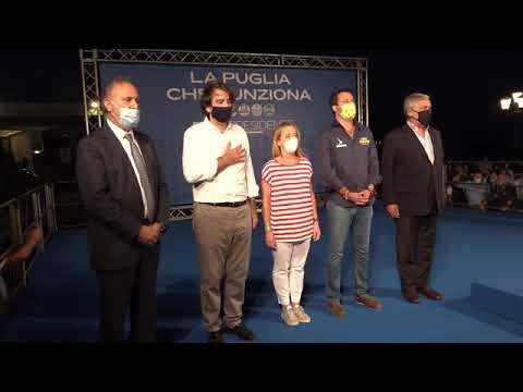 Giorgia Meloni: Il centrodestra unito anche in Puglia per Fitto Presidente. Insieme più forti!