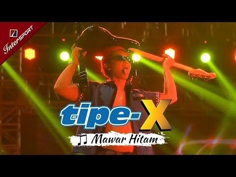 Tipe-X TERBARU | Mawar Hitam | Live Konser INTERSPORT - Jiexpo Kemayoran Jakarta 04 NOVEMBER 2017