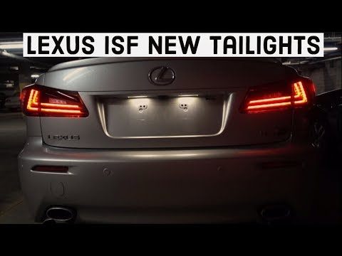 How To Install 2006-2014 Lexus IS 250, 350, ISF Tail Lights – NEW VLAND STYLE!