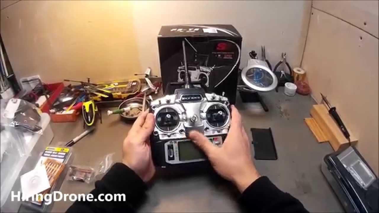 FlySky FS T6 Flight Controller Unboxing - YouTube