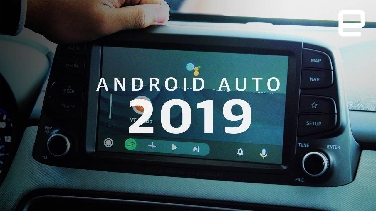 Android Auto 2019 Update at Google I/O