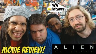 Aliens: Covenant! YoVideogames Movie Review