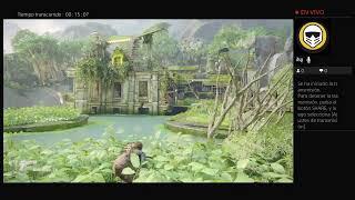 Trans PS4 en directo de rg94rh en YouTube live UNCHARTED4 EL DESENLACE DEL LADRÓN