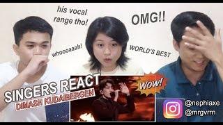 [SINGERS REACT] Dimash - World's Best 2019 Performance