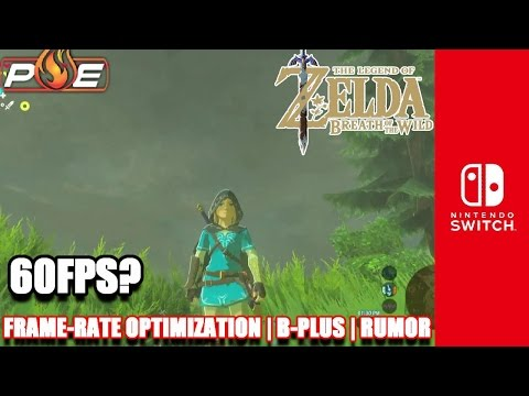 Zelda: BotW Frame-Rate Drops Due to Optimization Issues, Not Power/Resolution + Ran at 60fps | RUMOR