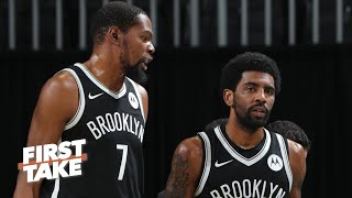 I'm not going to overreact to the Nets losing to the Bucks again - Kendrick Perkins | First Take