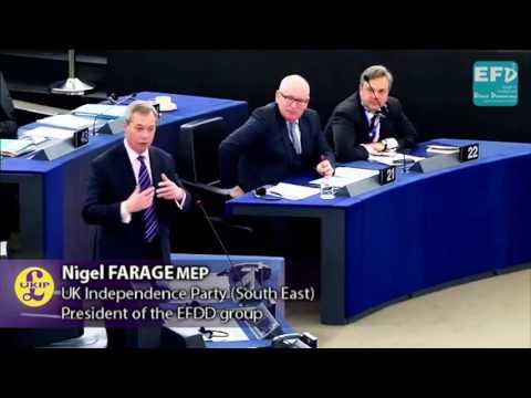 Nigel Farage: Even Mrs Merkel Wants to Send People Back. Feb 14th 2017