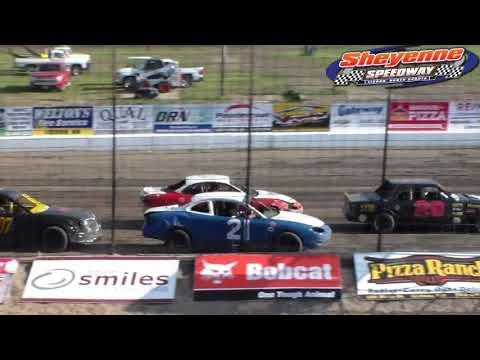 Sheyenne Speedway Mini Stock Heats (6/10/18)