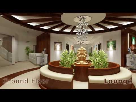 3D Club House Architectural Interior Walkthrough HD Animation - KemsStudio