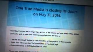 One true media closing