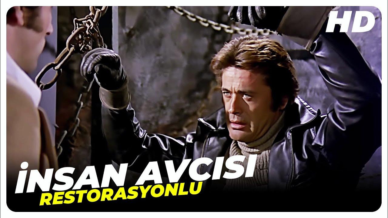 İnsan Avcısı   Cüneyt Arkın Eski Türk Filmi Tek Parça (Restorasyonlu)