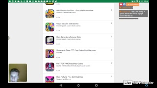 playing different games for tablet