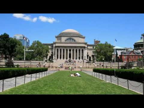 Columbia University - private Ivy League research university in Upper Manhattan, New York City.