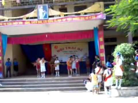 erobic pho le loi thi tran trieu son Thanh Hoa..mp4