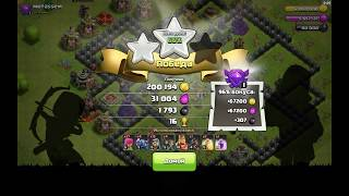 [Clash of Clans] Finally maxed Th8. Th 8 in master