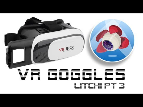 VR Mode using Litchi FPV and Goggles - For DJI Mavic Pro / Platinum Phantom and Inspire Drones