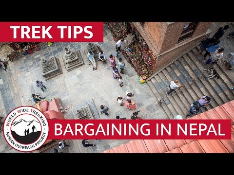 Guide to Bargaining & Shopping on Everest Base Camp Trek in Nepal | Trek Tips