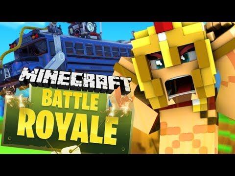 FORTNITE BATTLE ROYALE DANS MINECRAFT ?! Hypixel Battle Royale !