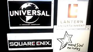 Universal pictures/Lantern entertainment/Square Enix/Wodsw Pictures logo