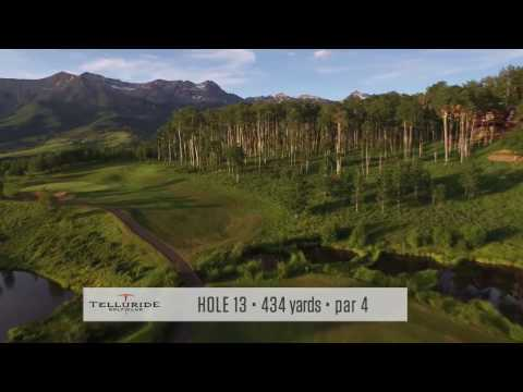Telluride Golf Course - Hole-by-Hole Fly Over