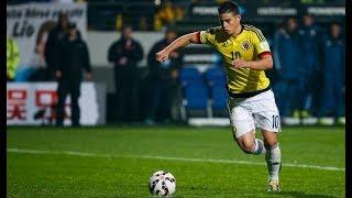 Los 10 mejores goles de JAMES RODRIGUEZ con COLOMBIA