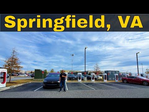 Springfield, VA - Tesla Supercharger Review