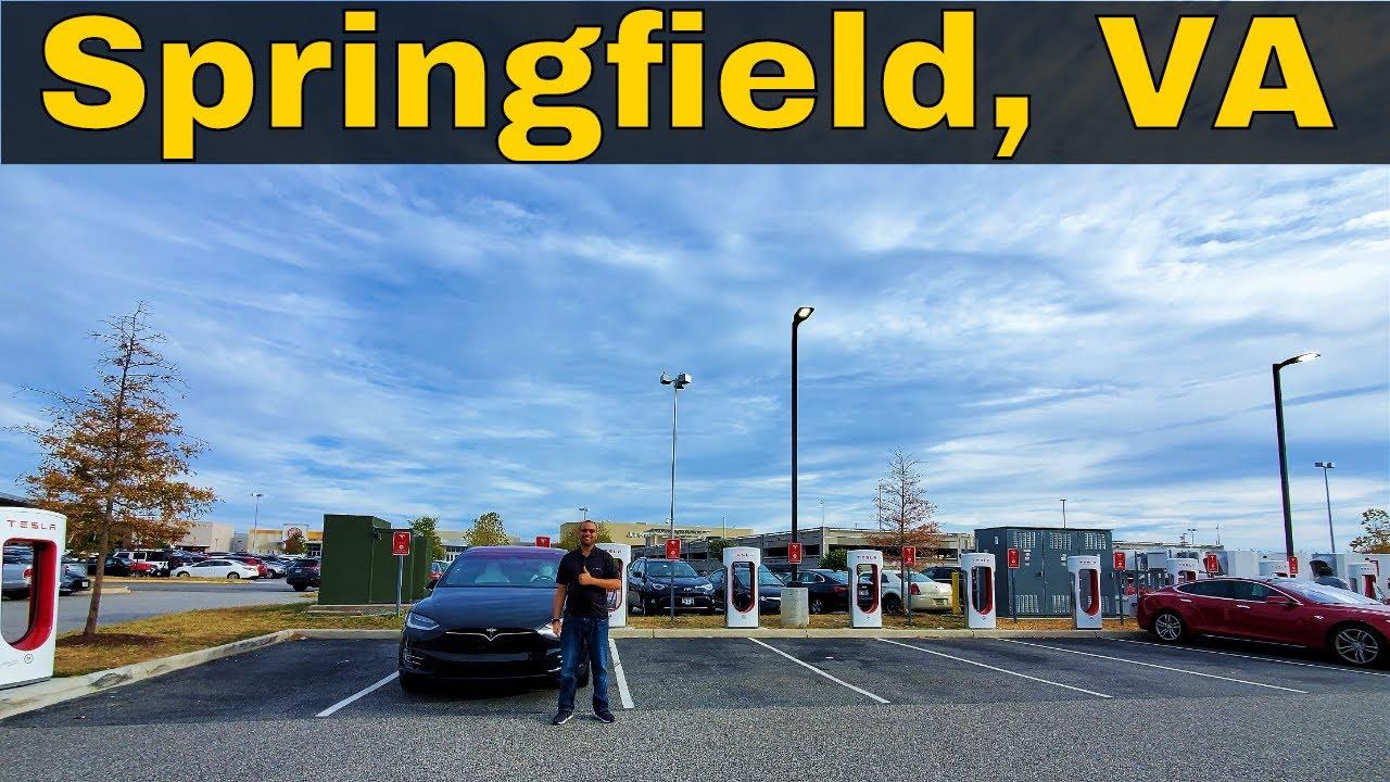 springfield va tesla supercharger review youtube springfield va tesla supercharger review