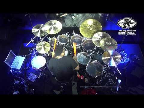 TAMA 40th Anniversary Drum Festival - Ronald Bruner Jr., Part 2