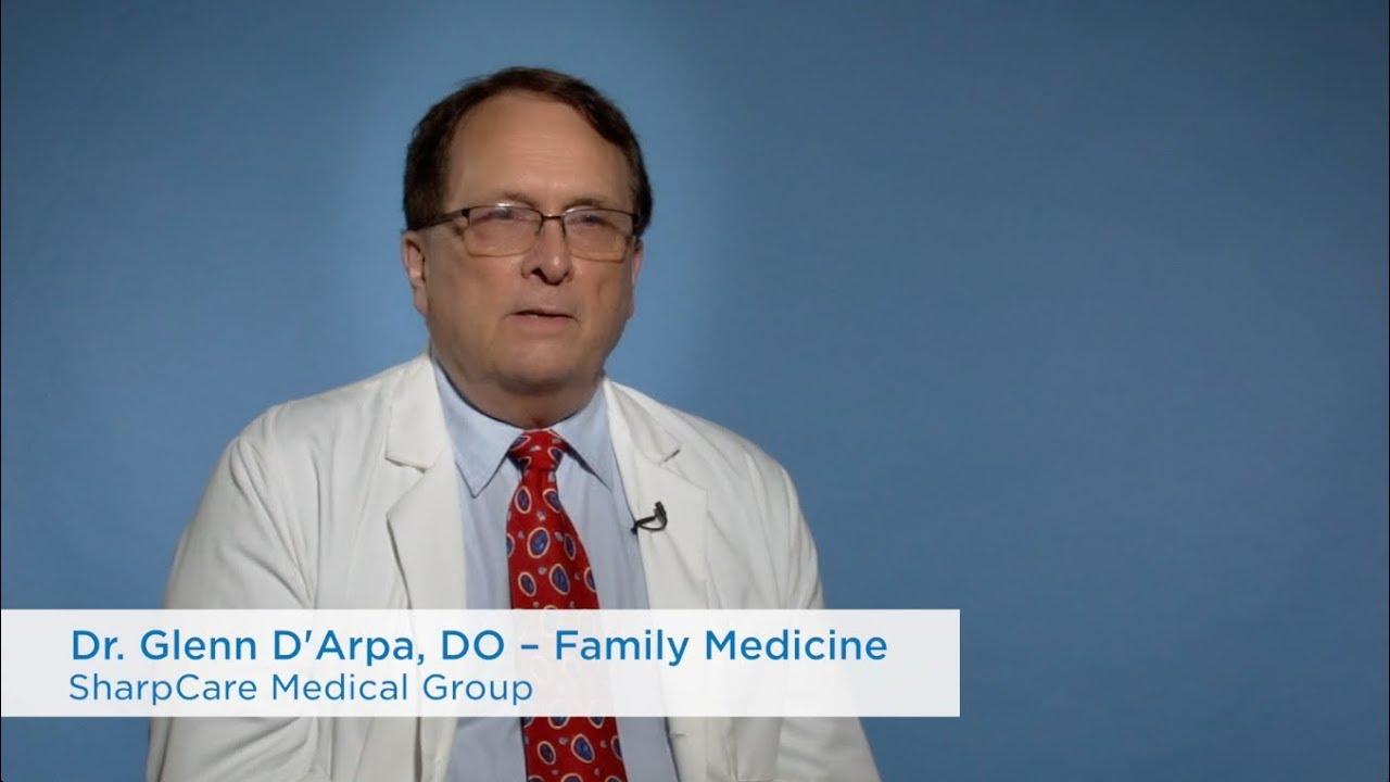 Glenn D'Arpa, DO | Sharp Community Medical Group