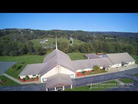 First Church Of God, New Bethlehem, PA Aerial Footage