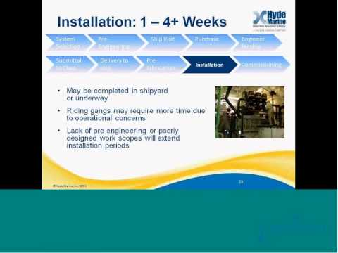 Hyde Marine Webinar: Guide to Ballast Water Treatment Retrofits