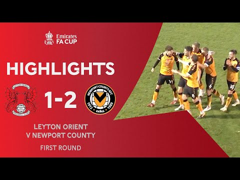 Leyton Orient Newport Goals And Highlights