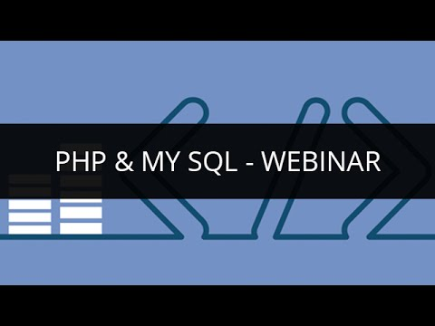 PHP & MySQL - Server-Side Scripting Language for Web Development | Edureka