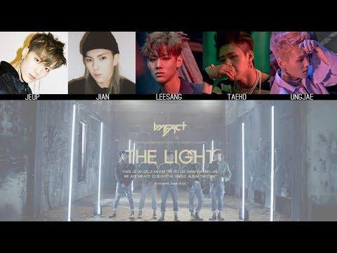 IMFACT - The Light(빛나) MV + Lyrics Color Coded HanRomEng