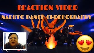 REACTION VIDEO*Naruto Best Dance Choreography & Kartina Velarde Singing impersonation