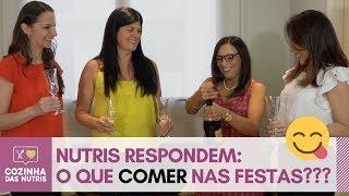 COMO SE COMPORTAR DIANTE DE TANTAS COMIDAS NAS FESTAS DE FIM DE ANO