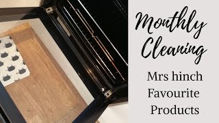 MONTHLY CLEAN USING MRS HINCH'S FAVOURITE PRODUCTS