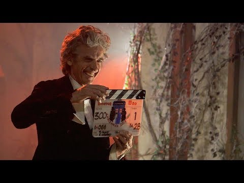Peter Capaldi On Filming His Regeneration Episode | Doctor Who