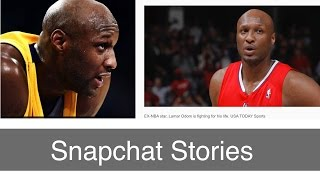 Lamar Odom Update, Snapchat Secrets, and a Crazy Aunt on Snapchat Stories