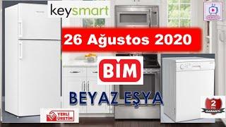 BİM   26 Ağustos 2020 Aktüel Kataloğu   Beyaz Eşya   Keysmart   Buzdolabı