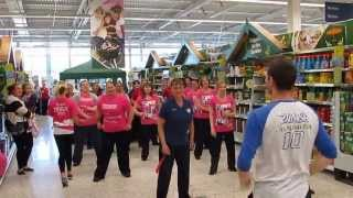Zumba Fitness in Tesco Extra, Stockton - Shake Señora Remix (Warm Up/Pop)