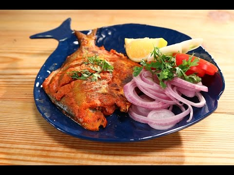Tandoori Pomfret | 5 Best Fish Recipes Chef Anupa | Sanjeev Kapoor Khazana