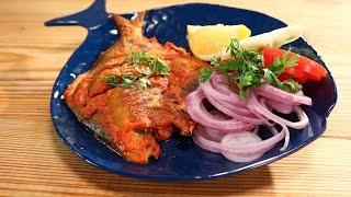 Tandoori Pomfret | 5 Best Fish Recipes Chef Anupa | Sanjeev Kapoor Khazana