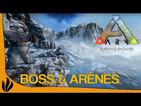 [FR] ARK: Survival Evolved - Nouveaux Boss & leurs arènes !