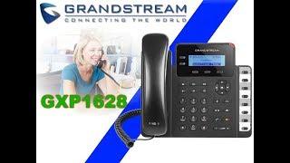 Grandstream GXP1628 IP Phone Dubai - 2 SIP Accounts, Gigabit Ports