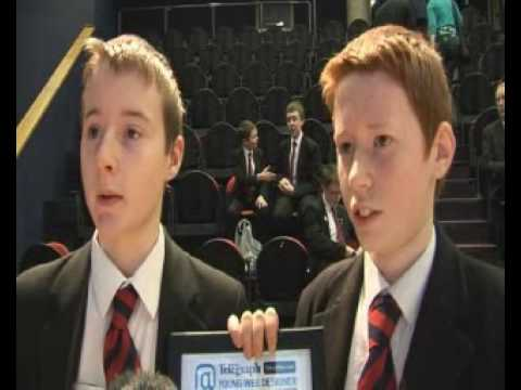 Young Web Designer of the Year competition - Belfast Telegraph TV video report