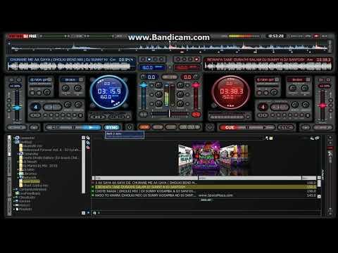 Dj Nitin Mixing Song By Dj Sunny Kosamba (Part 1)