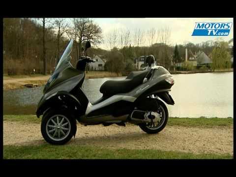Essai moto PIAGGIO 125 IE